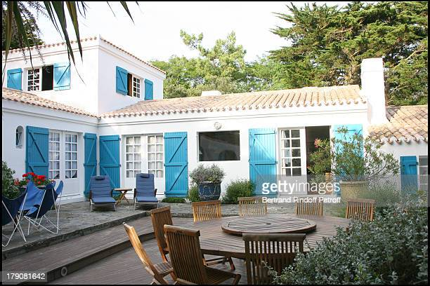 Alain Dominique Perrin's home at Inauguration Of Les Moulins At Noirmoutier