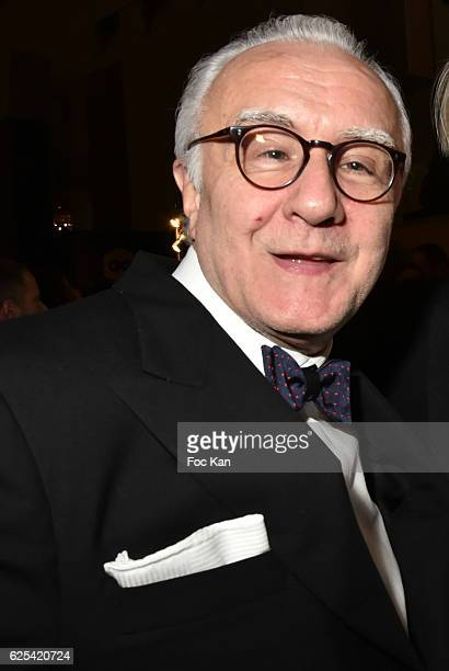 Alain Ducasse attends GQ Men Of The Year Awards at Musee d'Orsay on November 23 2016 in Paris France