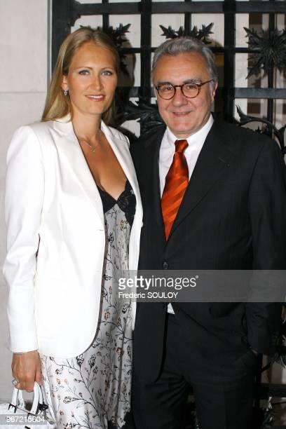 Alain Ducasse et Gwenaelle Gueguen