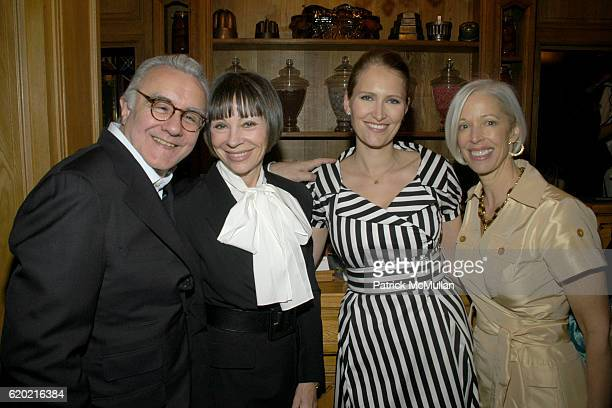 Alain Ducasse Maguey LaCoze Gwenaelle Gueguen and Linda Fargo attend Benoit Opening Party Hosted by Pamela Fiori and Alain Ducasse at Benoit...