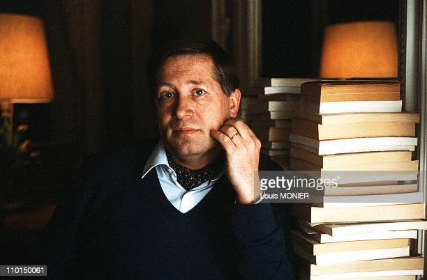 Alain Duhamel journalist in France in January 1989