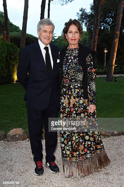 Alain Elkann attends McKim Medal Gala In Rome at Villa Aurelia on June 9 2016 in Rome Italy