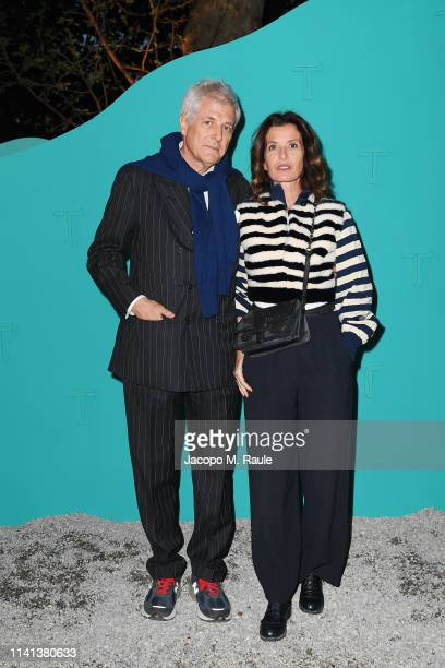 Alain Elkann attends T Celebrates Salone del Mobile 2019 on April 08 2019 in Milan Italy