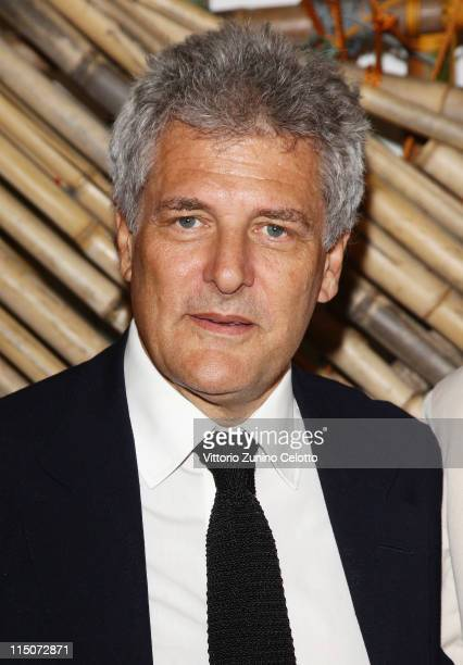 Alain Elkann attends the 'Hogan And Big Bambu' Cocktail Party during the 54th International Art Biennale on June 2 2011 in Venice Italy