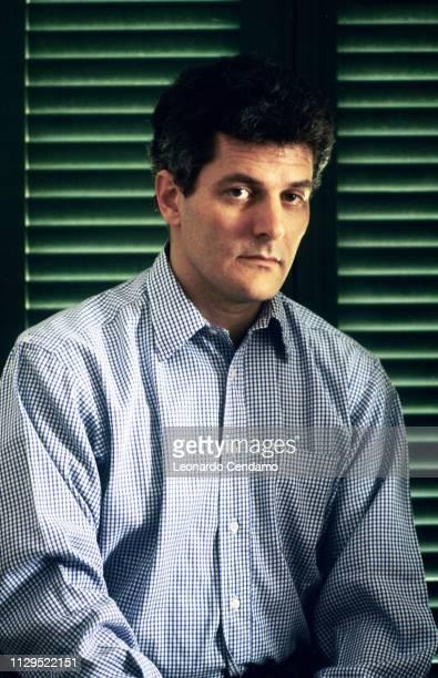 Alain Elkann Italian writer Milan Italy 1995