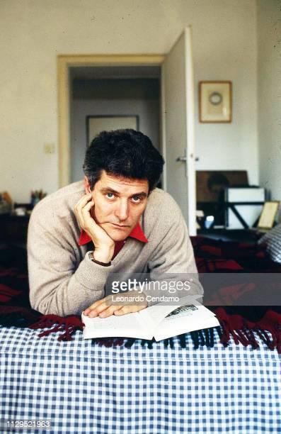 Alain Elkann Italian writert Milan Italy 1995