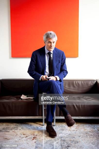 Alain Elkann writer TV journalist Milan Italy 2010