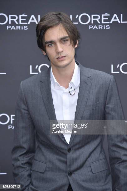 Alain Fabien Delon attends Le Defile L'Oreal Paris as part of Paris Fashion Week Womenswear Spring/Summer 2018 at Avenue Des Champs Elysees on...