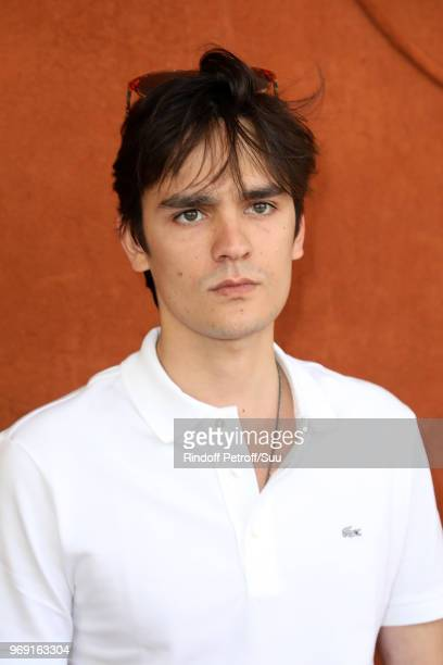 Alain Fabien Delon attends the 2018 French Open Day Twelve at Roland Garros on June 7 2018 in Paris France