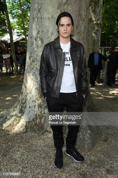 Alain Fabien Delon attends the Berluti Menswear Spring Summer 2020 show as part of Paris Fashion Week on June 21 2019 in Paris France