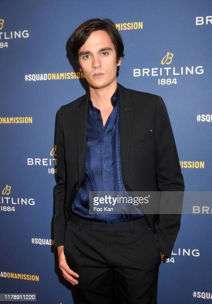 Alain Fabien Delon attends the Breitling 1884 flagship reopening party at 10 rue de la Paix on October 03 2019 in Paris France