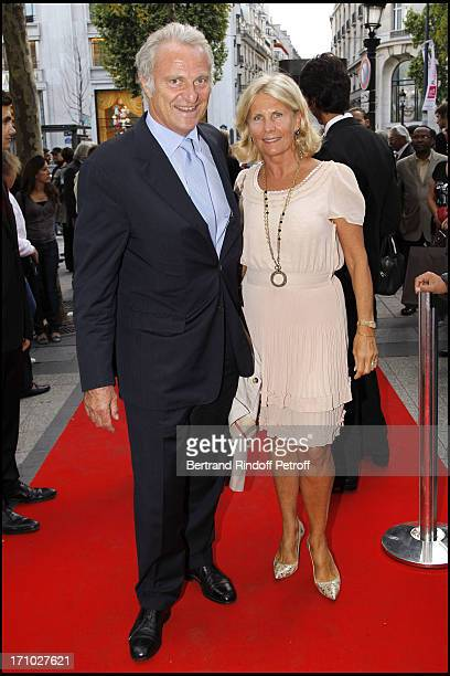 Alain Flammarion and his wife at Gala Evening For The 40th Anniversary Of The Claude Pompidou Foundation