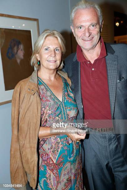 Alain Flammarion and his wife Suzanna Flammarion attend 'Picasso Bleu et Rose' Exhibition at Musee d'Orsay on September 16 2018 in Paris France