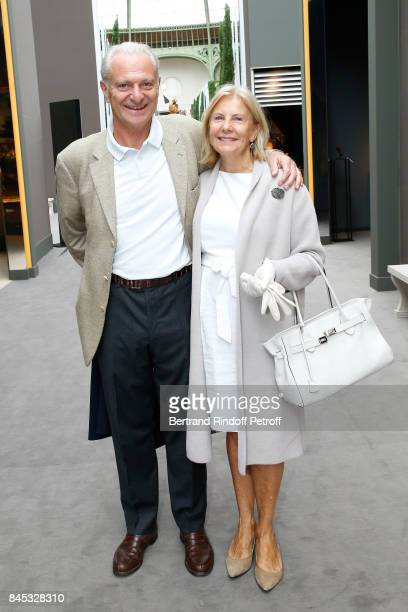 Alain Flammarion and his wife Suzanna Flammarion attend the Biennale des Antiquaires 2017 PreOpening at Grand Palais on September 10 2017 in Paris...