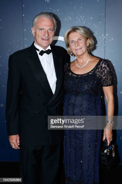 Alain Flammarion and his wife Suzanna Flammarion attend the Opening Season Paris Opera Ballet Gala as part of the Paris Fashion Week Womenswear...