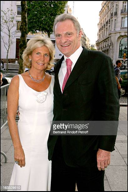 Alain Flammarion and wife at the Gala Evening In Paris In Aid Of The Pompidou Foundation