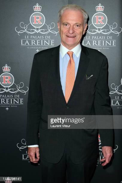 Alain Flammarion attends The Le Palais De La Reine Royal Chocolate Cocktail At Palais Vivienne on February 19 2019 in Paris France