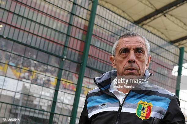 Alain Giresse during an International Friendly match between Nigeria and Mali on May 27 2016 in Rouen France