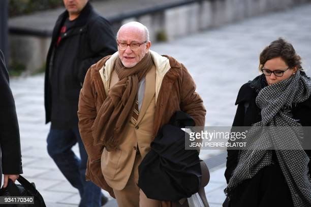 Alain Jakubowicz lawyer of Nordahl Lelandais chief suspect in the case of the disappearance of Maelys an eightyearold French schoolgirl who vanished...