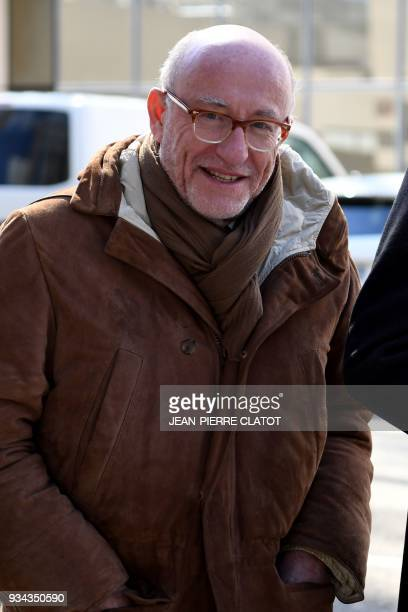 Alain Jakubowicz lawyer of Nordahl Lelandais the chief suspect in the case of the disappearance of Maelys an eightyearold French schoolgirl who...