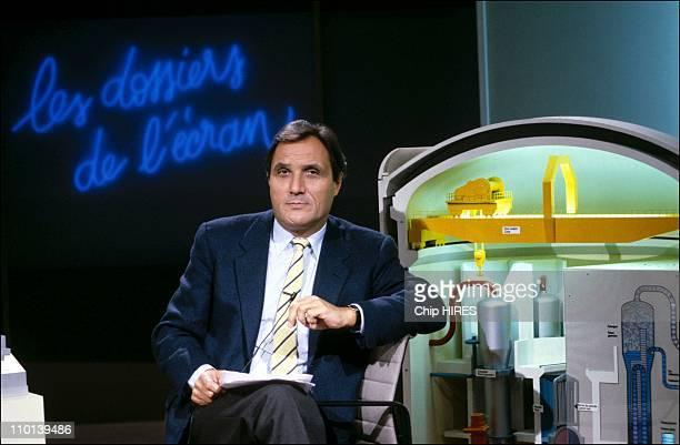 Alain Jerome in Paris France on December 2 1986