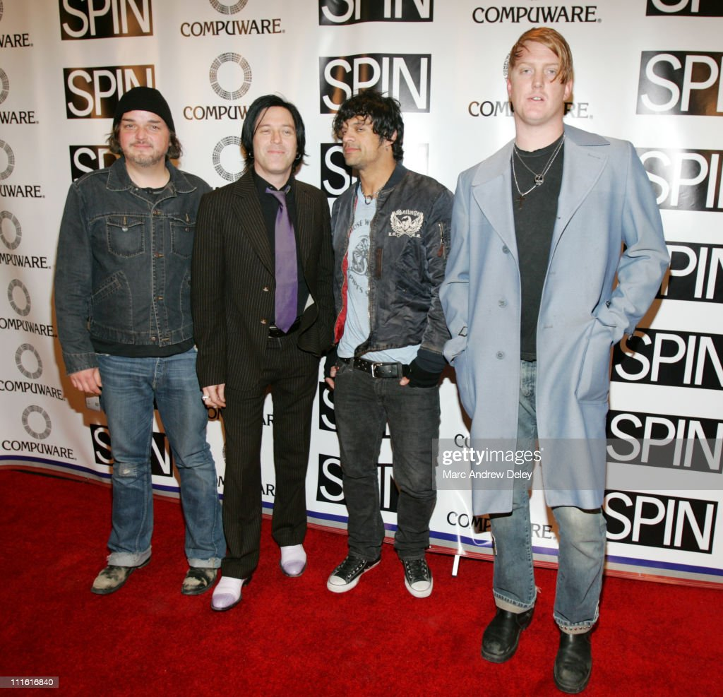 Alain Johannes, Troy Van Leeuwen, Joey Castillo and Josh Homme of Queens of the Stone Age