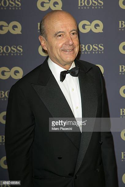Alain Juppe attends the 'GQ Men of the Year 2014' photocall at Musee d'Orsay on November 19 2014 in Paris France