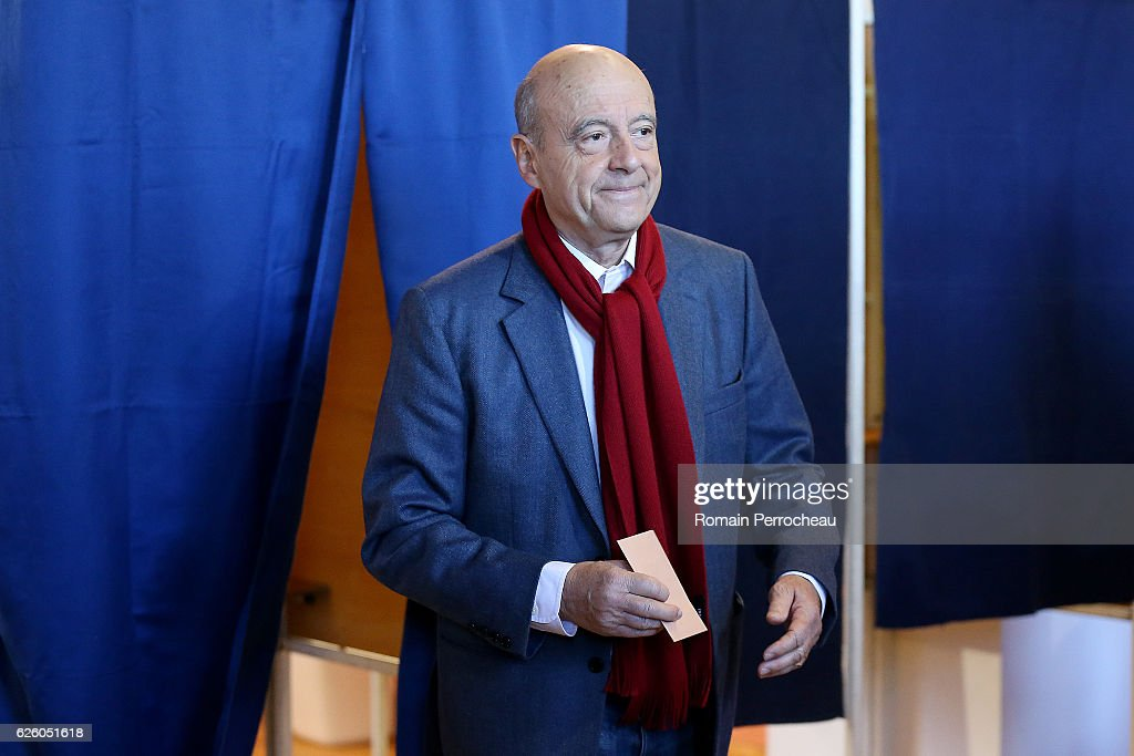 Alain Juppe Votes For 2nd Right-Wing Primary Ahead Of The 2017 Presidential Election