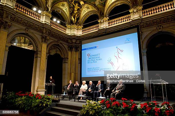 Alain Leroy 1998 Peace Nobel Prize laureate John Hume 1976 laureate Betty Williams 1993 laureate Frederik Willem de Klerk Socialist mayor of Paris...