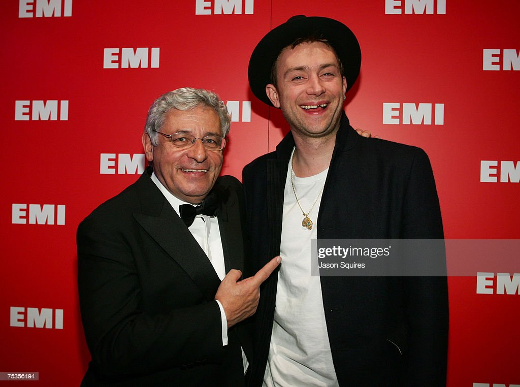 Alain Levy, Chairman and CEO of EMI Music and David Auburn