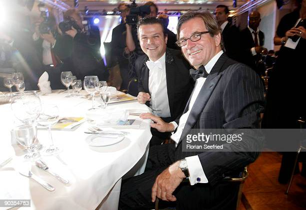 Alain Midzic and Thomas Haffa attend the 'UNICEFGala' at Park Hotel on September 5 2009 in Bremen Germany