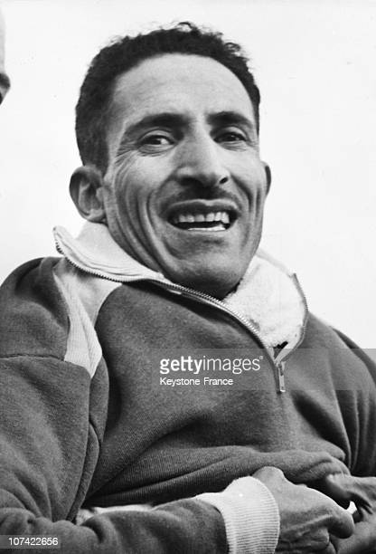 Alain Mimoun French Athlete Winner Of The Six Nations Running Belfast On March 19Th 1956