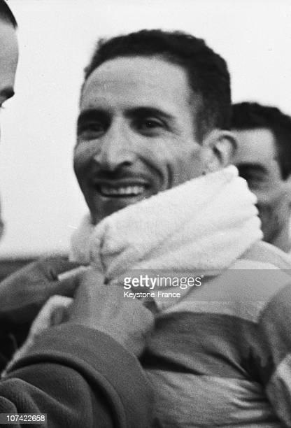Alain Mimoun In Alger On October 29Th 1955