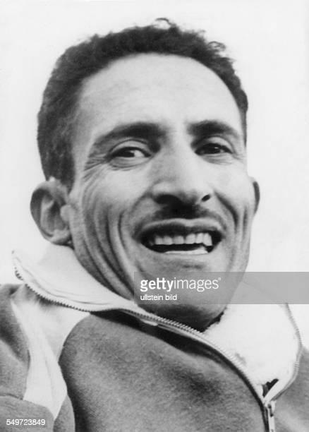 Alain Mimoun Leichtathlet Langstreckenläufer