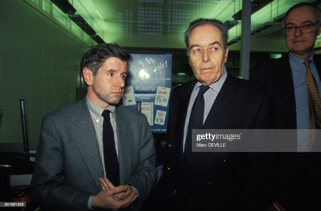 Jean-Marie Colombani A La Tete Du Monde Pictures | Getty Images
