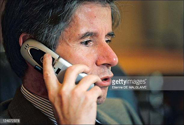 Alain Minc French economist In France On September 06 2002