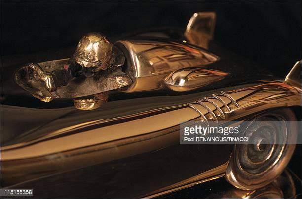 Alain Moitrier a sculptor of speed in France in January 1991 Porsche RCK