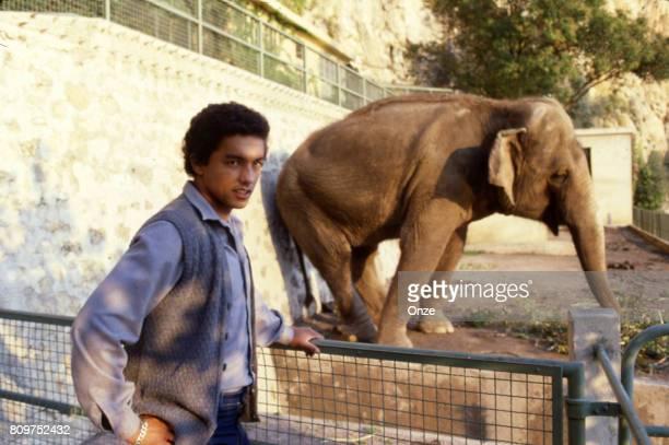 Alain Moizan of Monaco during a photoshoot on October 19 1979 in Monaco Monaco