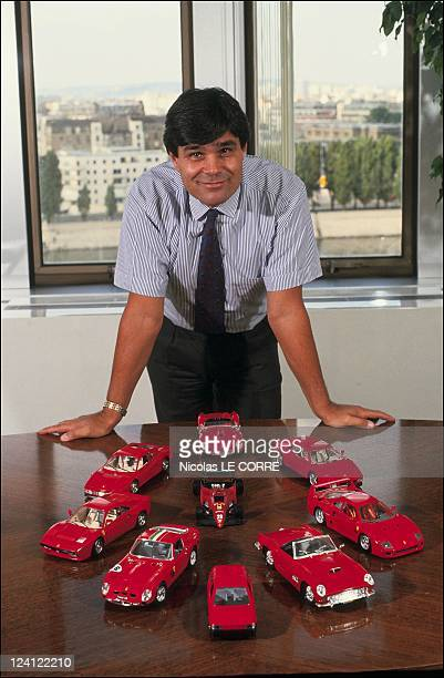 Alain Mosconi CEO of Fiat France In France On October 02 1991