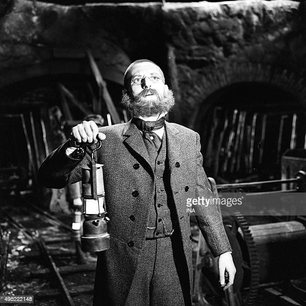 Alain Mottet in the television film Indes Noires realized by Marcel Bluwal according to Jules Verne's work