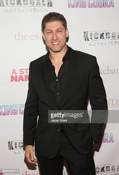 Alain Moussi attends AFM'16 The Exchange's 5 Year Anniversary Celebration on November 1 2016 in Santa Monica California