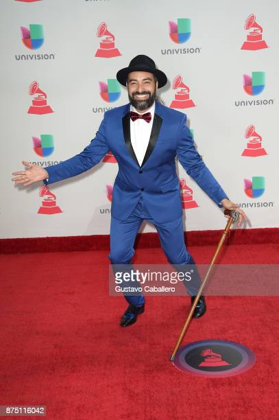 Alain Perez attends the 18th Annual Latin Grammy Awards at MGM Grand Garden Arena on November 16 2017 in Las Vegas Nevada