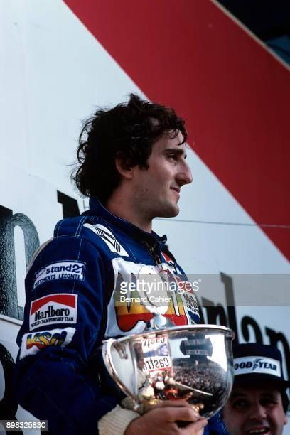 Alain Prost Alan Jones Grand Prix of the Netherlands Circuit Park Zandvoort 30 August 1981