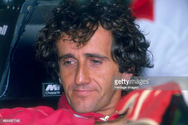 Alain Prost British Grand Prix Silverstone Northamptonshire 1989 After winning the World karting Championship and European Formula Renault and...