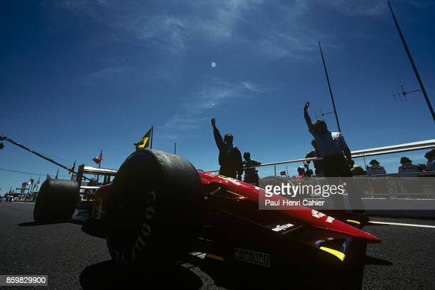Alain Prost Ferrari 641 Grand Prix of France Circuit Paul Ricard July 8 1990