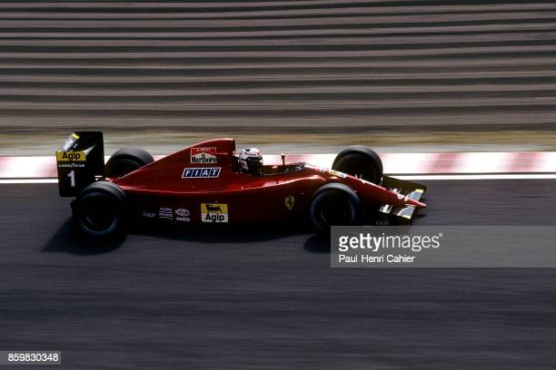 Alain Prost Ferrari 641 Grand Prix of Japan Suzuka Circuit October 21 1990