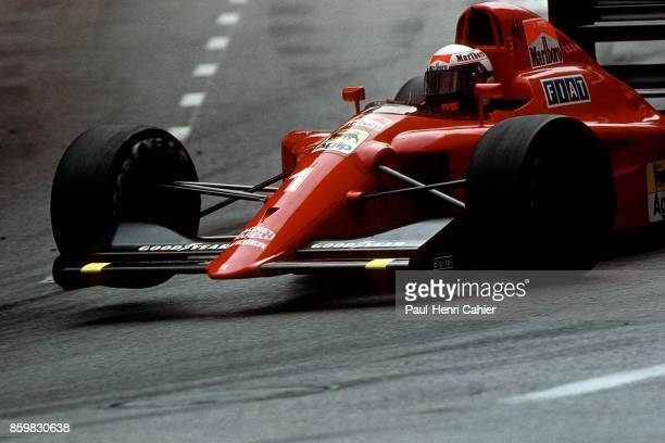 Alain Prost Ferrari 641 Grand Prix of Monaco Circuit de Monaco May 27 1990