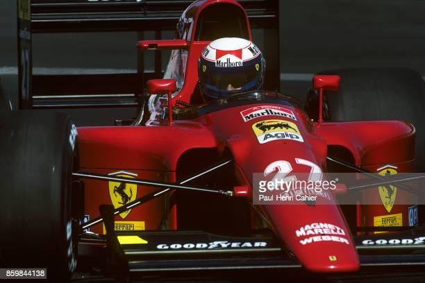 Alain Prost Ferrari 642 Grand Prix of Canada Circuit Gilles Villeneuve June 2 1991