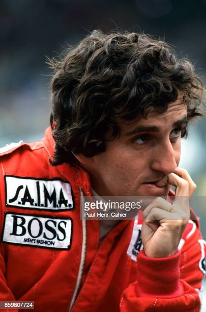 Alain Prost Grand Prix of Canada Circuit Gilles Villeneuve June 17 1984