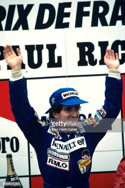 Alain Prost, Grand Prix of France, Circuit Paul Ricard, April 17, 1983.